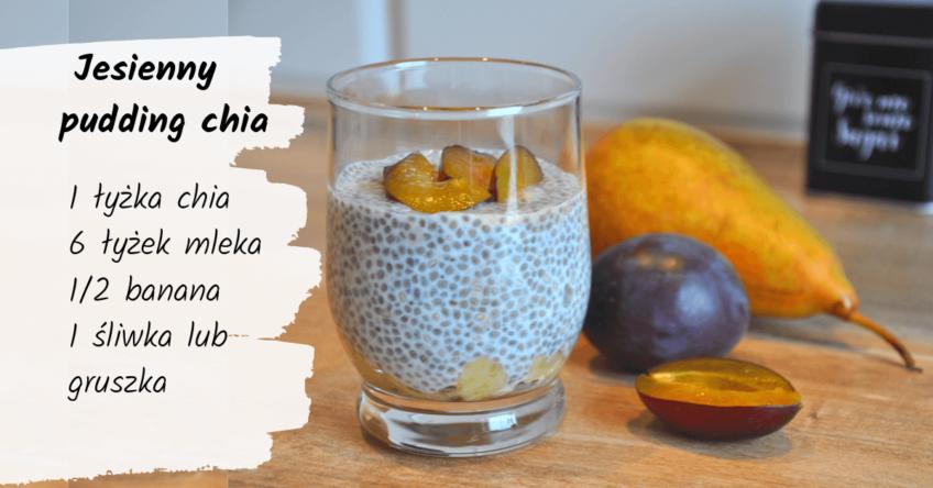 Jesienny pudding chia – 5 składników, ekspresowo