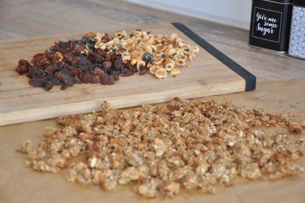 granola składniki