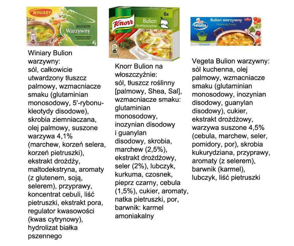 kostki Knorr i WIniary