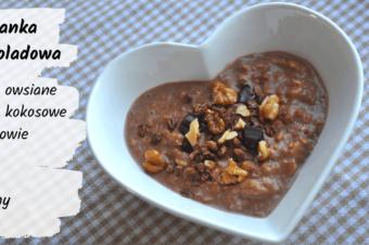 Czekoladowa owsianka – 5 składników, 5 minut