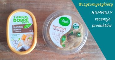 Hummusy – recenzja produktów