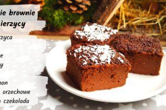 Szybkie brownie z ciecierzycy – bez dodatku cukru