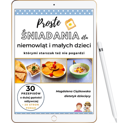 Ebook śniadania dla niemowląt i małych dzieci