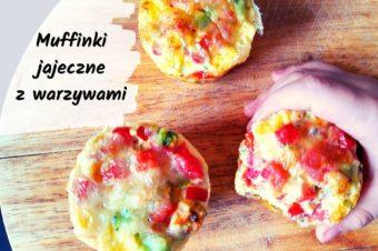 Muffinki jajeczne z warzywami