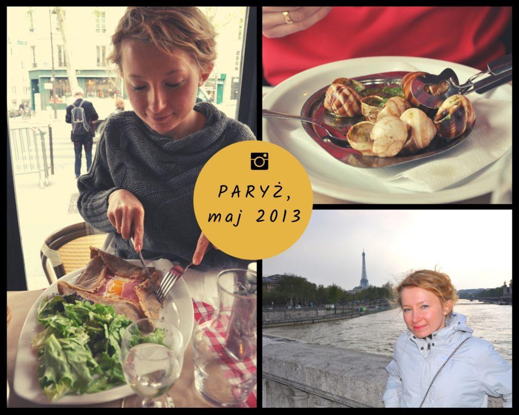 Paryż, maj 2013 zdjęcia z podróży