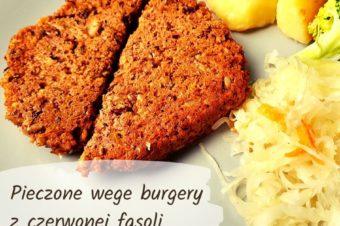 Pieczone wege burgery – proste i szybkie