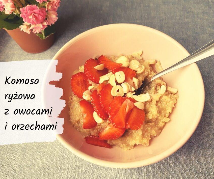 KOMOSANKA, czyli komosa ryżowa (quinoa) z owocami