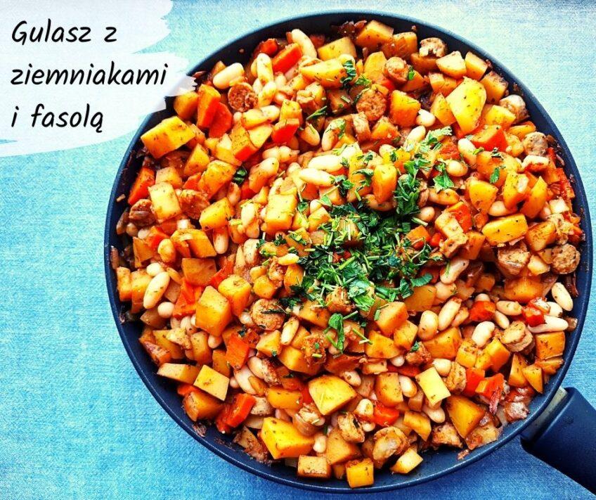 Ekspresowy gulasz z białą fasolą i ziemniakami