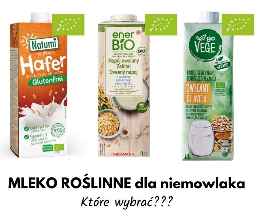 Mleko roślinne dla niemowlaka – które wybrać?