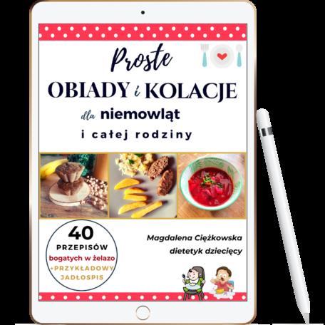 ebook obiady i kolacje niemowląt wizualizacja