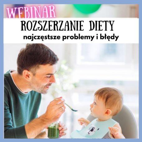 rozszerzanie diety problemy i błędy