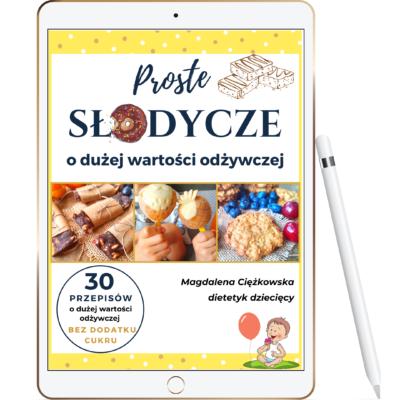 ebook proste zdrowe słodycze dla dzieci